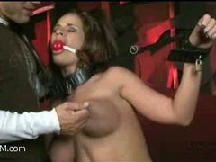 a busty whore enticed into intense headfuck and punishment