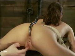 a simply gorgeous babe driven to strong multiple orgasms