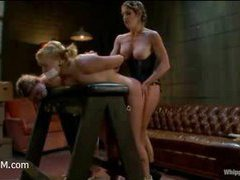 Two lusty whores captured by a sadistic mistress