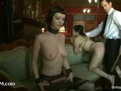 A brand new slave slut abused on the Upper Floor