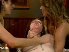 A bitchy slut punished for her insatiable sexual appetite
