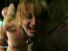 A sizzling slut endures onslaught of brutal orgasms