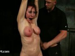 Kinky guy takes revenge by punishing and abusing his girlfriend