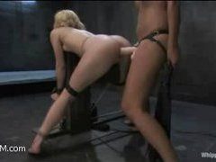 a naive blonde comes for some emotions and she receives a lot!