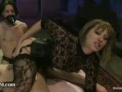 Maitresse Madeline reviews her brand new bitchboy