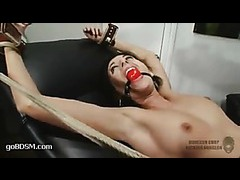 A sexy nurse applicant introduced to her kinky responsibilities