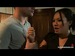 Asa Akira gets busted for fucking in her massage parlor