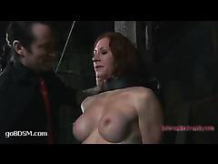 Catherine DeSade gets her pussy stuffed with all types of objects