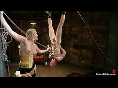 A new hot mistress gives slaveboy a tough day to remember