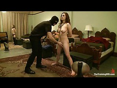 Hot slave girls pleasing the midnight visitors