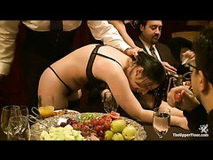BDSM community joins Maestro Stefanos for a kinky brunch party