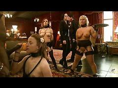 Three hot slaves taking punishments for maintenance failure