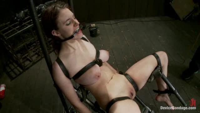 bondage clips Redhead