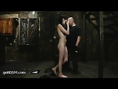 A hot newbie gets overloaded with hardcore experiences in tight bondage