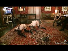 The Governess whipped and punished like a common slut