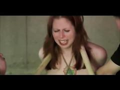 Redhead Made To Orgasm