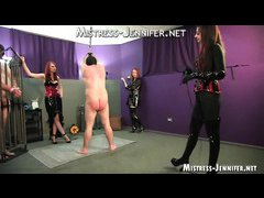 Three Mistresses hard whipping