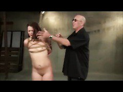 Ten Shibari Bound And Spanked