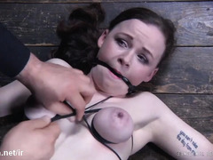Unconscious slave gets rough punishment from a horny and wicked master