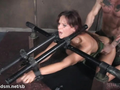 Busty mature slave experiences non-stop deepthroating and hardcore sex