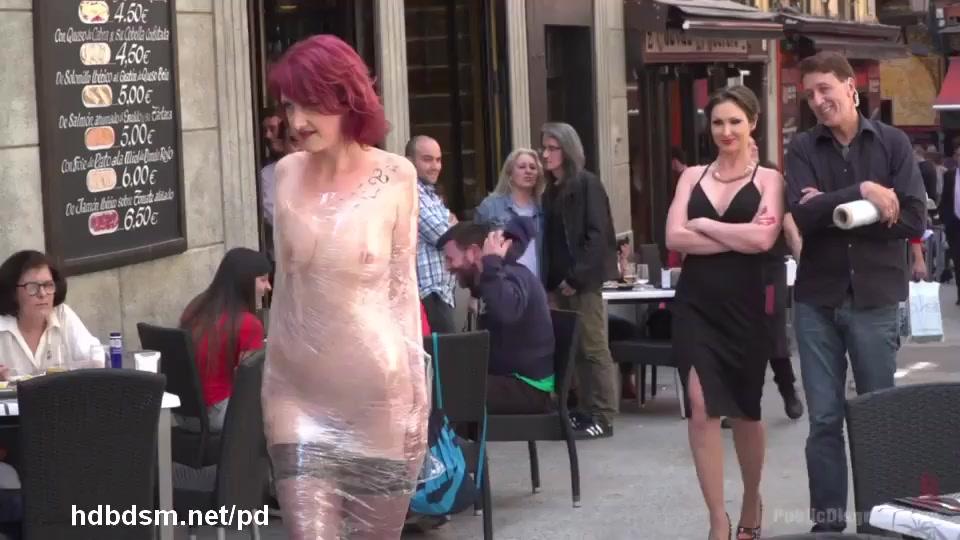 Bdsm marched naked