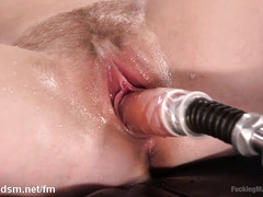 Mind-blowing squirting pleasures from skinny and lusty blonde sweetheart