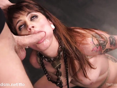 Sweet slave bears the brunt of master's kinky and rough sexual demands