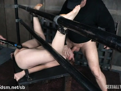 Sweet darling is totally spent and breathless from excessive fucking play