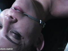 Thrashing tough slave with non-stop pussy banging and wild deepthroating