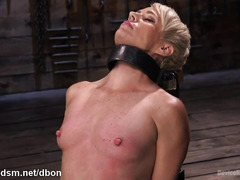 Milf endures harsh activity during naughty bondage play