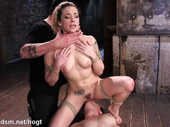 Teens roughly seduced in insane BDSM group play