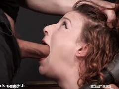 Insane fuck play for stranded redhead avid for cock