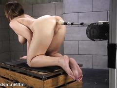 Voluptuous beauty in insane scenes of double penetration solo