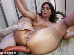 Lesbo whores anal trying one another in brutal XXX modes