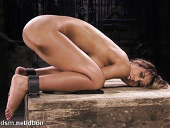 Astounding woman hard fucked in perfect bondage XXX scenes