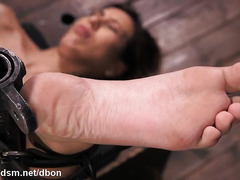 Astounding woman hard fucked in perfect bondage XXX scenes