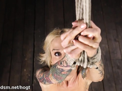 Milf with huge tits beaten and spanked in nasty bondage XXX play