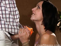 Vintage BDSM porn with an obedient whore avid for the rough treat