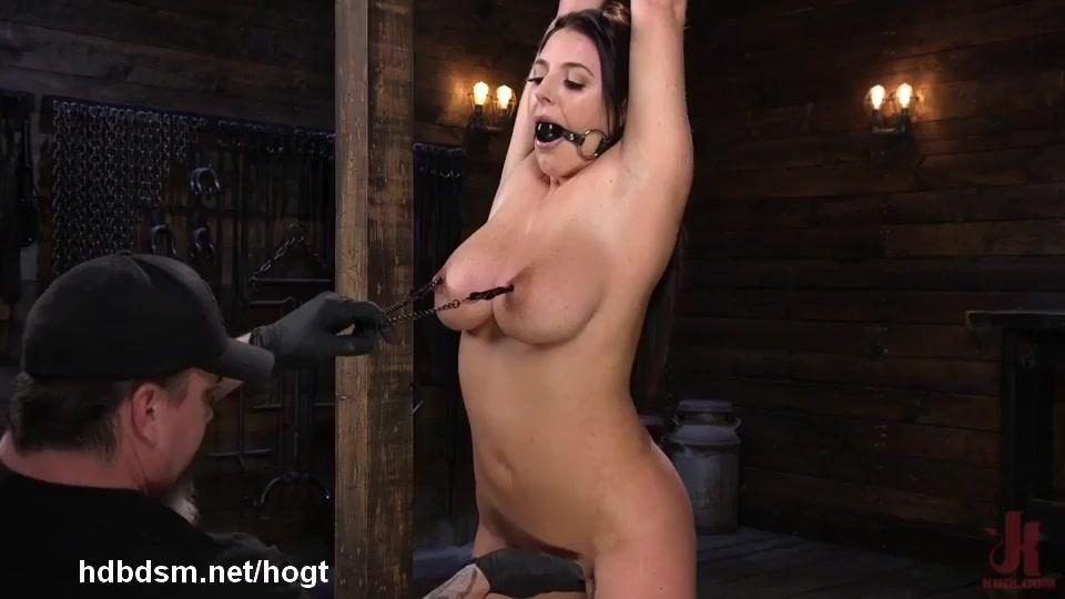 Brunette Big Tits Submissive