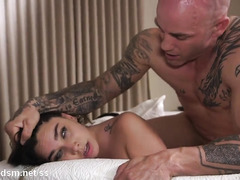 Busty girl plays submissive in really rough XXX scenes