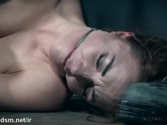 Brutal BDSM sex play with a slutty and obedient young babe