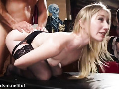 Steamy orgy brings them all to fucking like real sluts