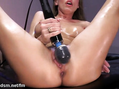 Bitch provides full fuck machine fantasy porn in brutal scenes