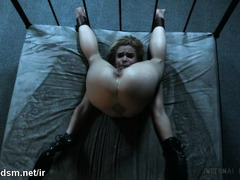 Full pussy domination for a retrained blonde in heats