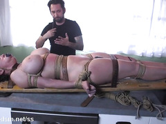 Voluptuous milf forced fucked and made to swallow sperm