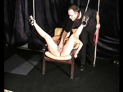 Asian Tigers Whipped Pussy and oriental bondage of busty submissive
