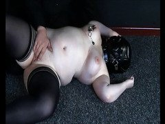 Bizarre Punishment of Chubby Amateur Slavegirl