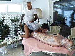 Premium video: Undressing a maid