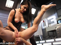 Dominant mature in scenes of brutal ass fucking