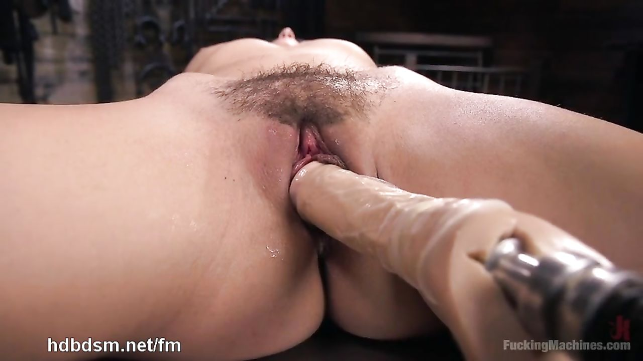 Remarkable fucking machine white naked happens. can